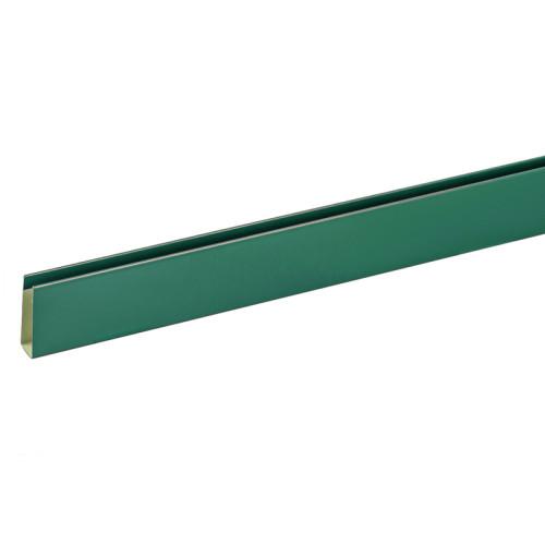 П-планка для профнастила С8 цвет зелёный