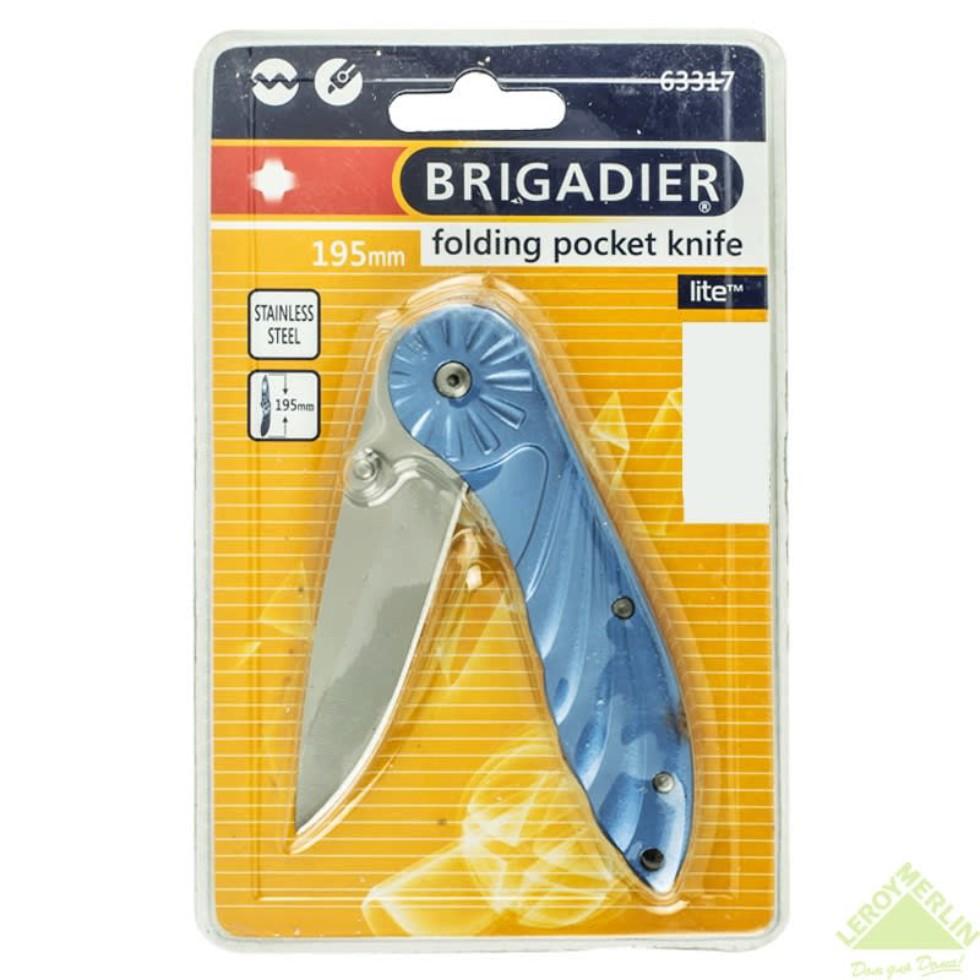 Нож Brigadier Extrema 195 мм, с выкидным лезвием