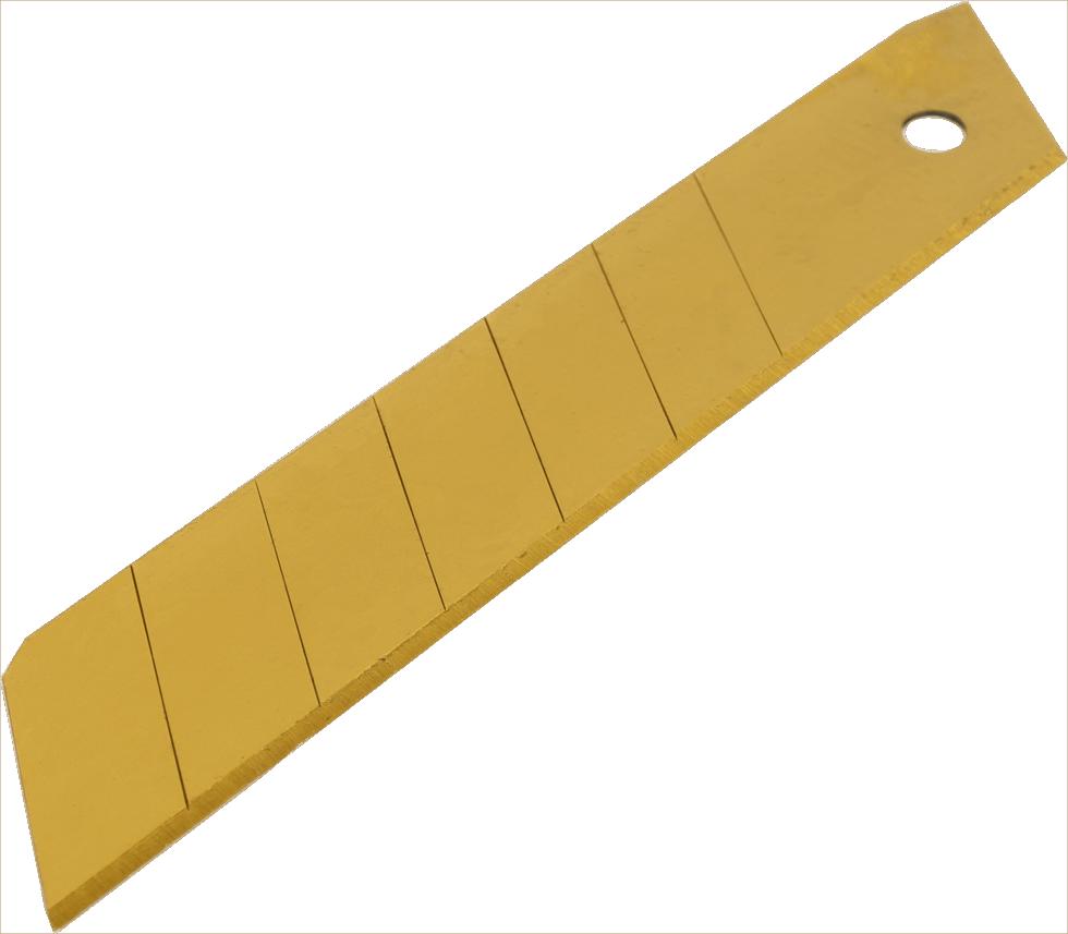 Лезвия для ножа Brigadier Extrema 25 мм, 5 шт.