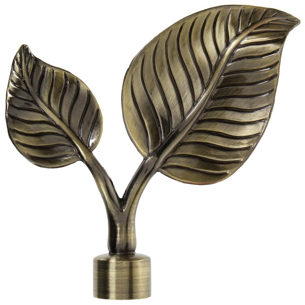 Наконечник «Вяз» 11 см цвет золото антик