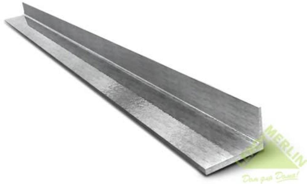 Уголок металлический 40x40x4x2920 мм