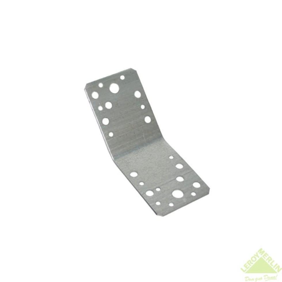 Уголок для стропильных соединений 90x90x65x2 мм под углом 135