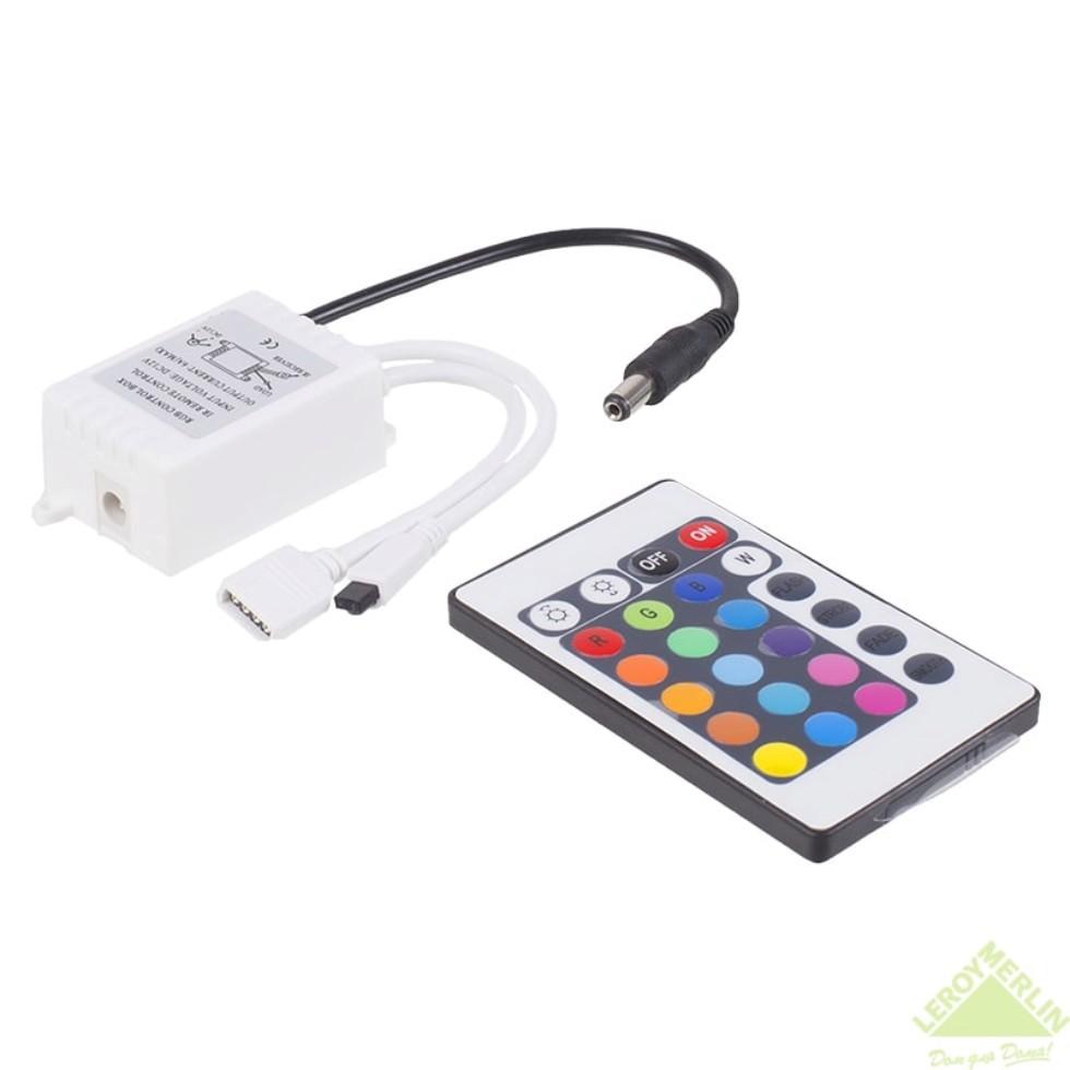 Контроллер RGB 12 В 72 Вт пульт до 10 м ленты