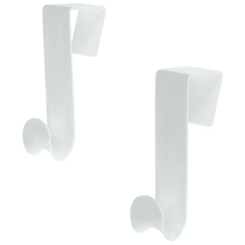 Крючок дверной универсальный, пластик, 2 шт.