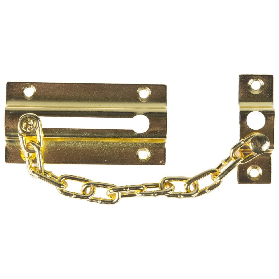 Цепочки дверные 60х110 мм, цвет золото