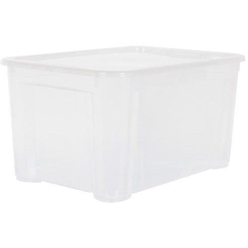 Ящик Кристалл 39х29x56 см, пластик цвет прозрачный