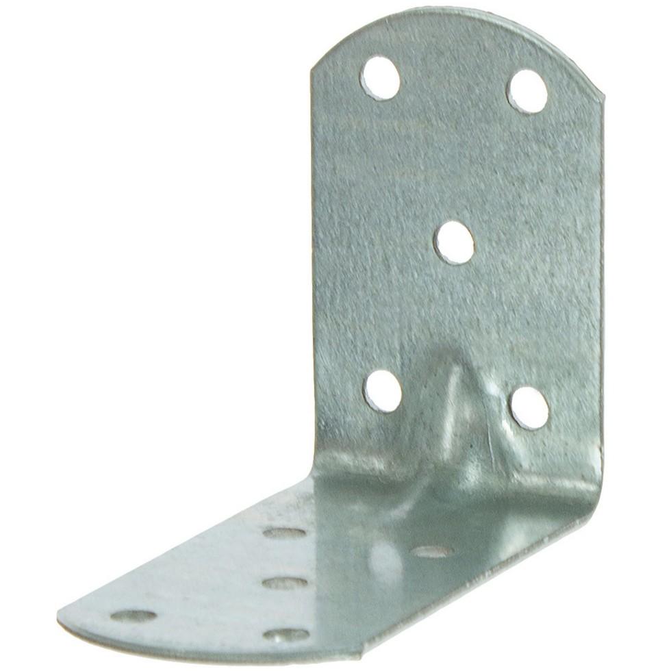 Уголок крепежный 60x80x40x2 мм усиленный