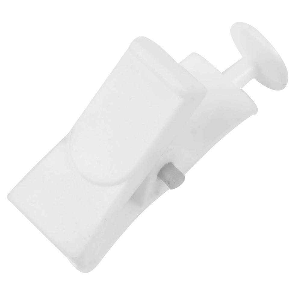 Зажим-ролик для пластиковой шины пластик цвет белый 20 шт.