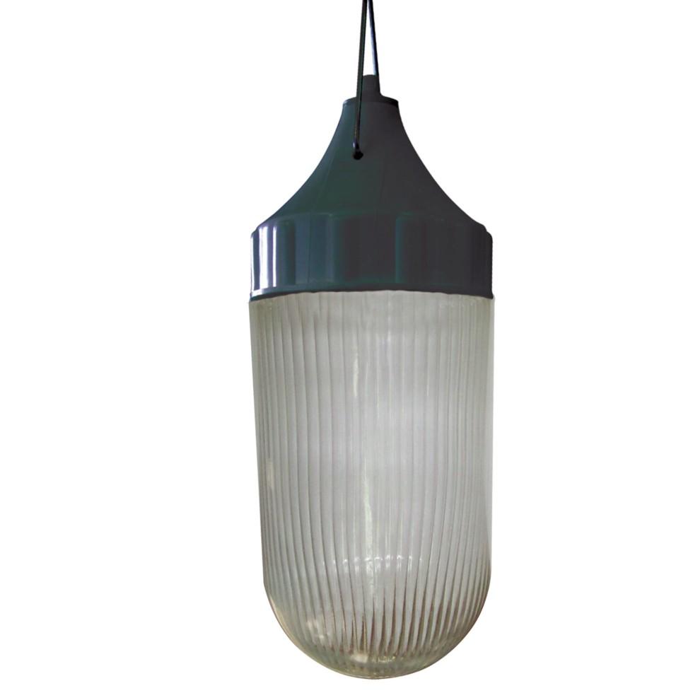 Светильник подвесной «Конус» 1xE27х60 Вт, цвет чёрный, IP53