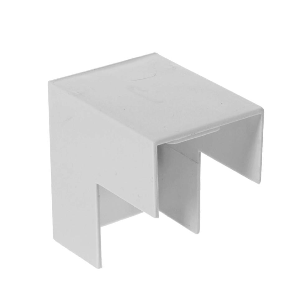Угол внешний Экопласт ME40/25 мм, пластик, цвет белый, 5 шт.