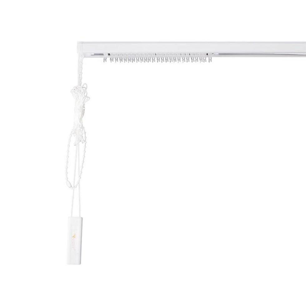 Карниз для вертикальных жалюзи к механизму 140x180 см металл цвет чёрно-белый