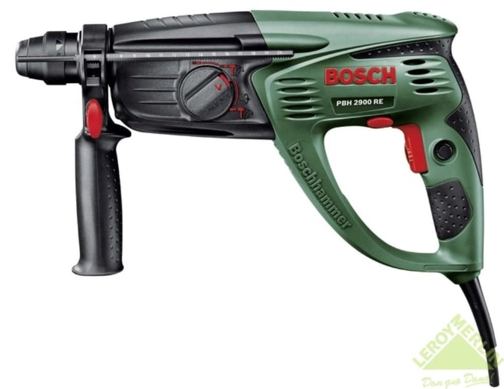 Перфоратор Bosch PBH 2900 RE, 730 Вт, 2,7 Дж
