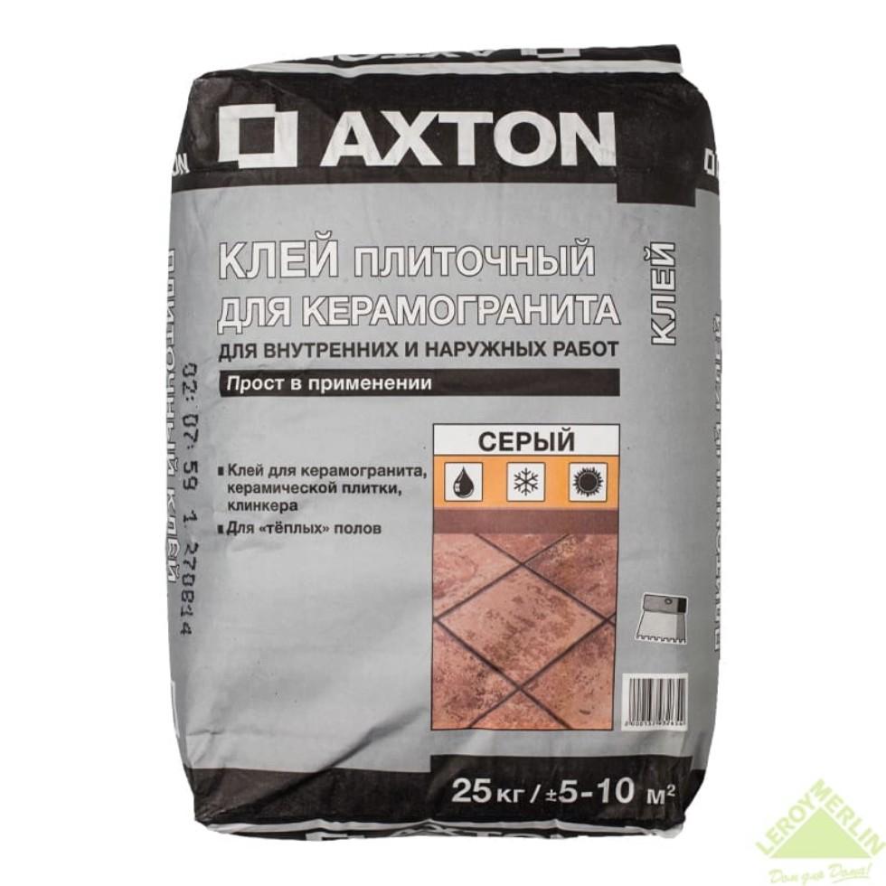 Клей Axton, керамогранит, 25 кг