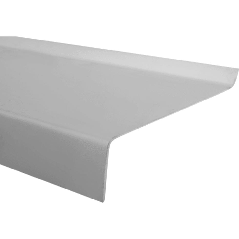 Отлив ПВХ 300х14 см, цвет белый