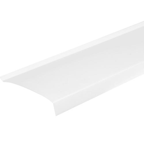 Отлив ПВХ 180х1500 мм белый