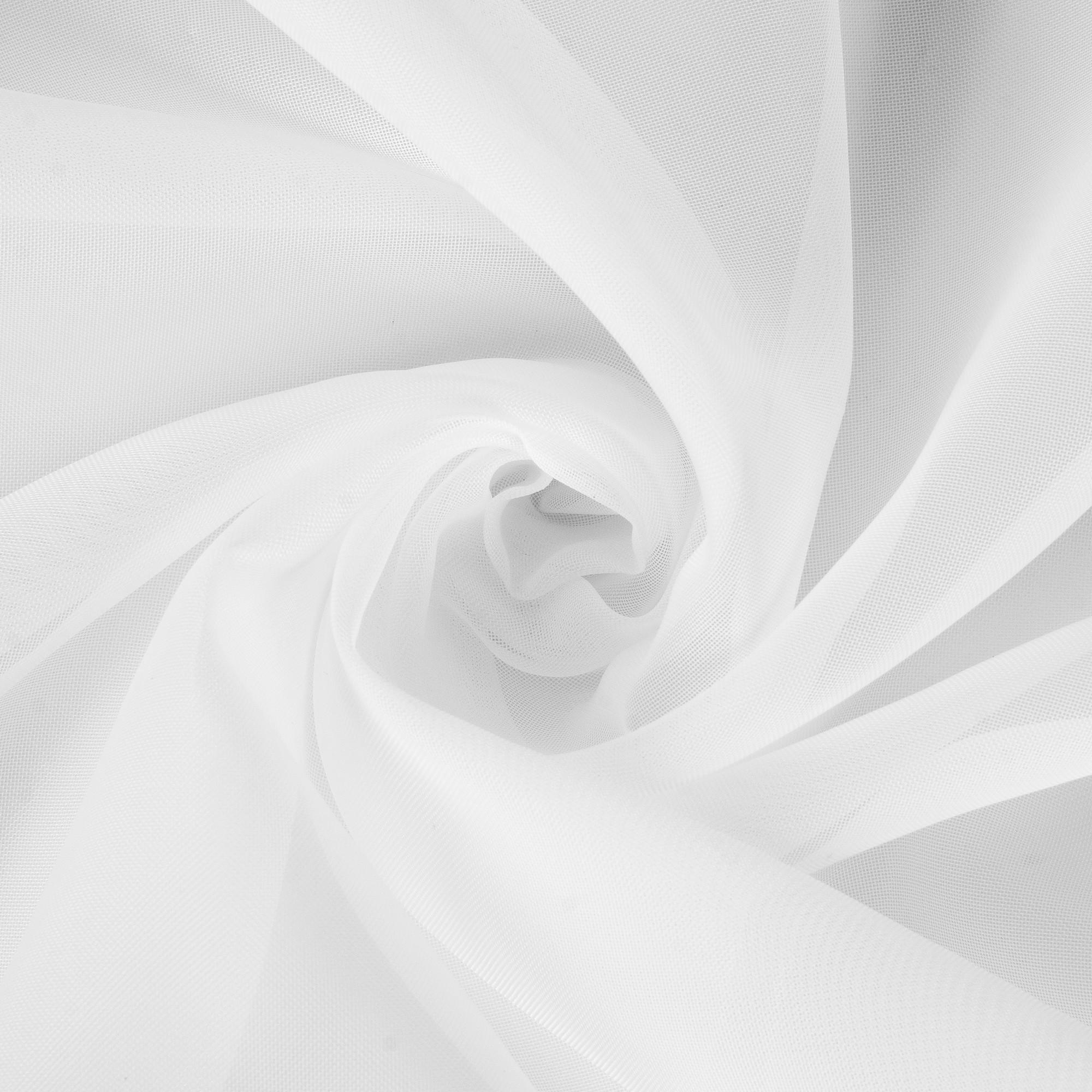 Вуаль 1 п/м 295 см однотон цвет белый