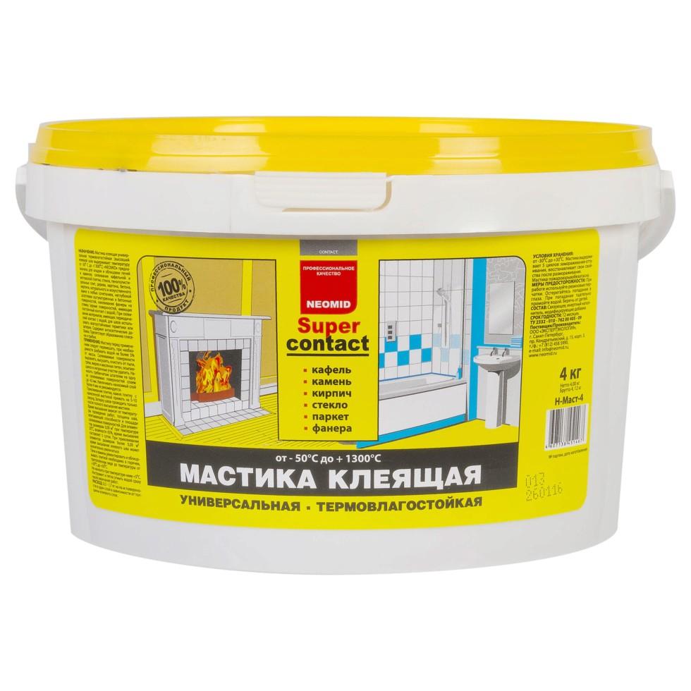 Мастика универсальный Neomid, термовлагостойкая, 4 кг