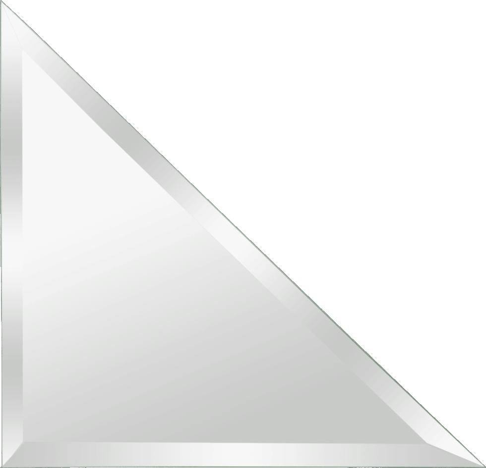 Плитка зеркальная NNLM27 треугольная 20х20 см