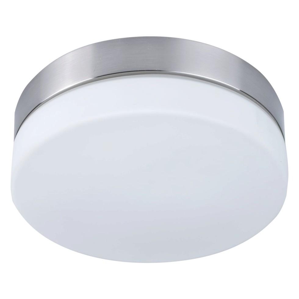 Светильник Presto 1xE27х60 Вт, круг, цвет никель, IP44