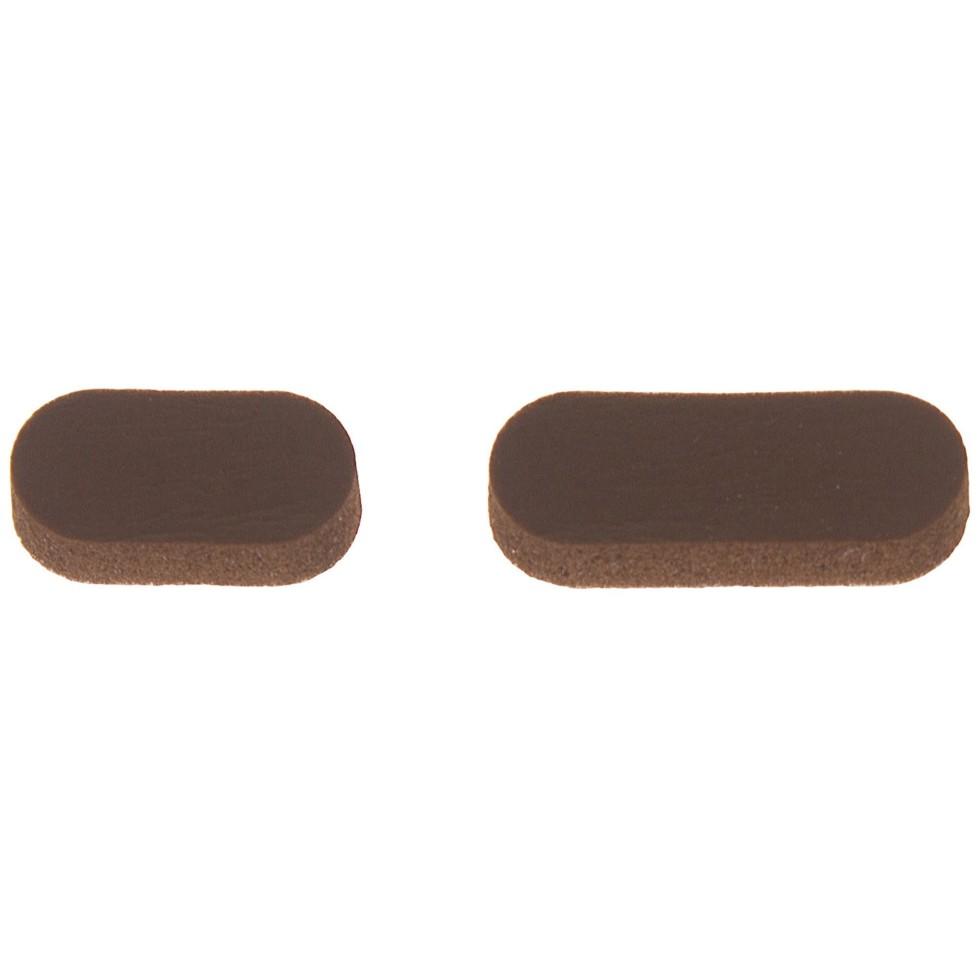 Звукопоглотитель 7x16 мм поролон цвет коричневый, 10 шт.