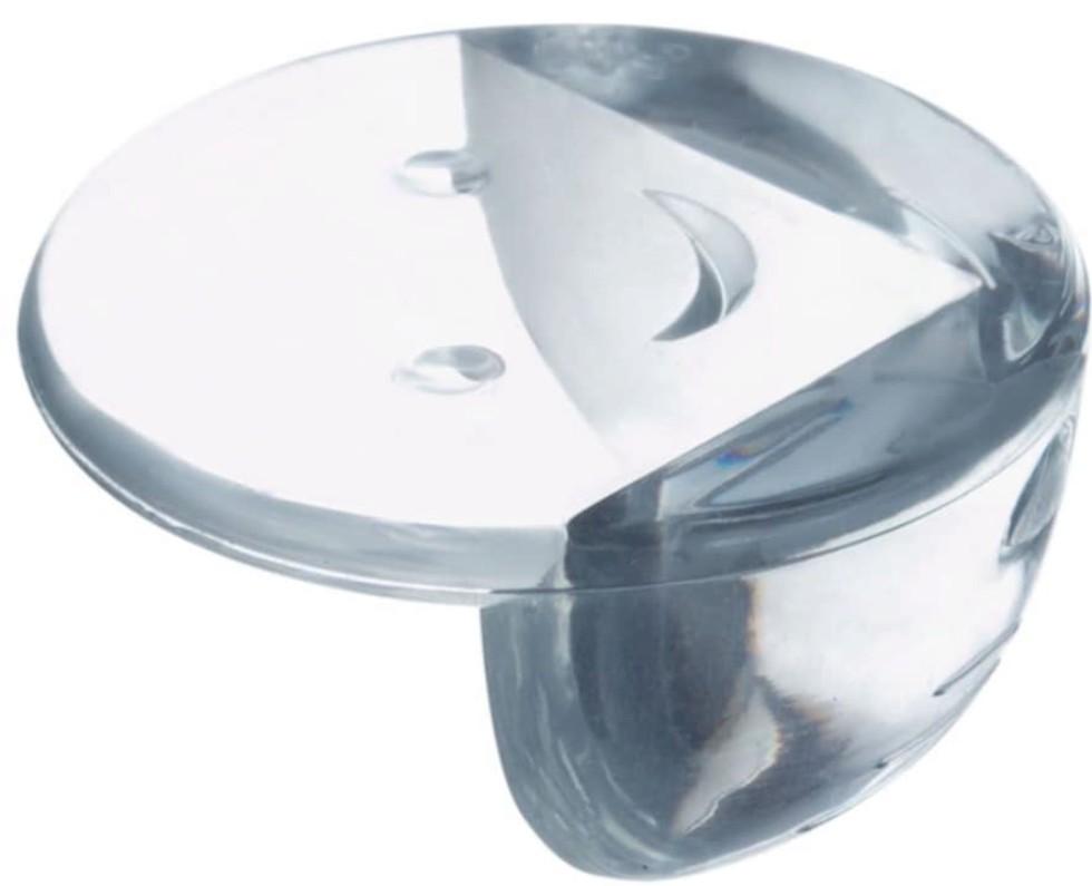 Накладки на углы стола TCWA-013, силикон, цвет серый, 4 шт.