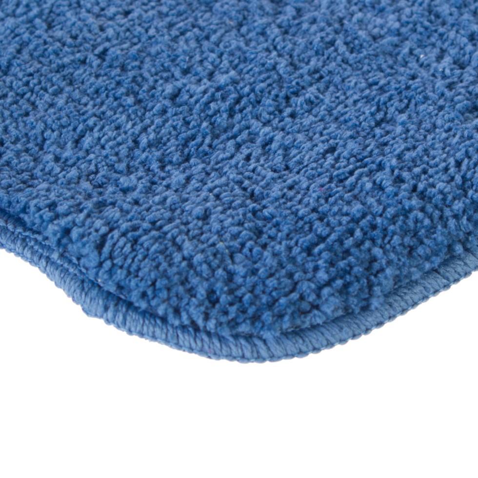 Коврик для ванной комнаты «Lounge» 50х70 см цвет синий