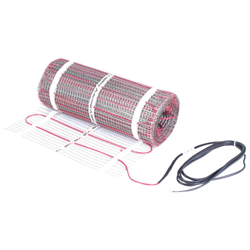 Тёплый пол (нагревательный мат) Devi 1050 Вт, 7 м2