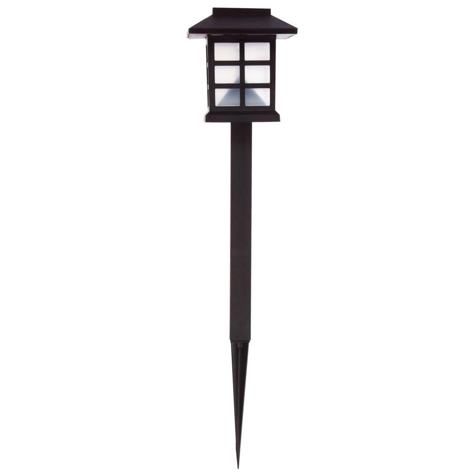 Светильник на солнечных батареях Inspire «London Mood», 38 см, пластик, цвет чёрный