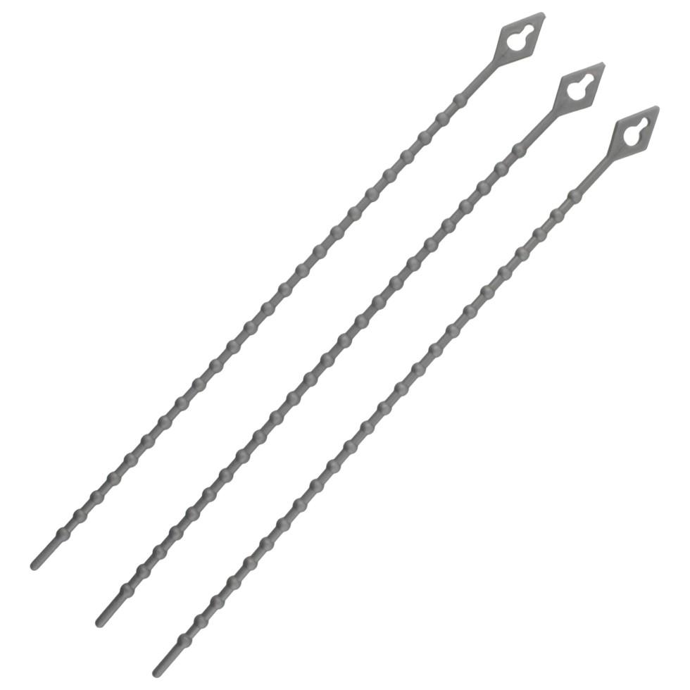 Стяжка многоразовая 3х150 мм, нейлон, 50 шт.