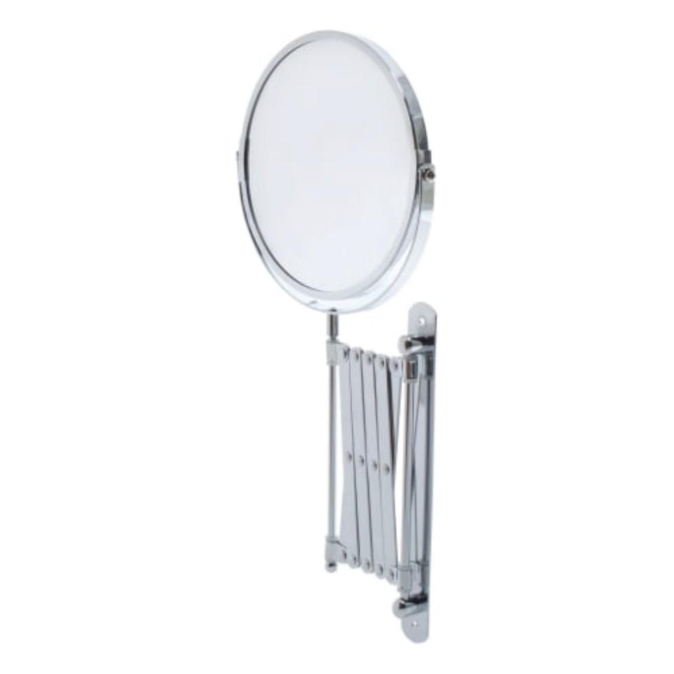 Зеркало косметическое настенное увеличительное 17 см
