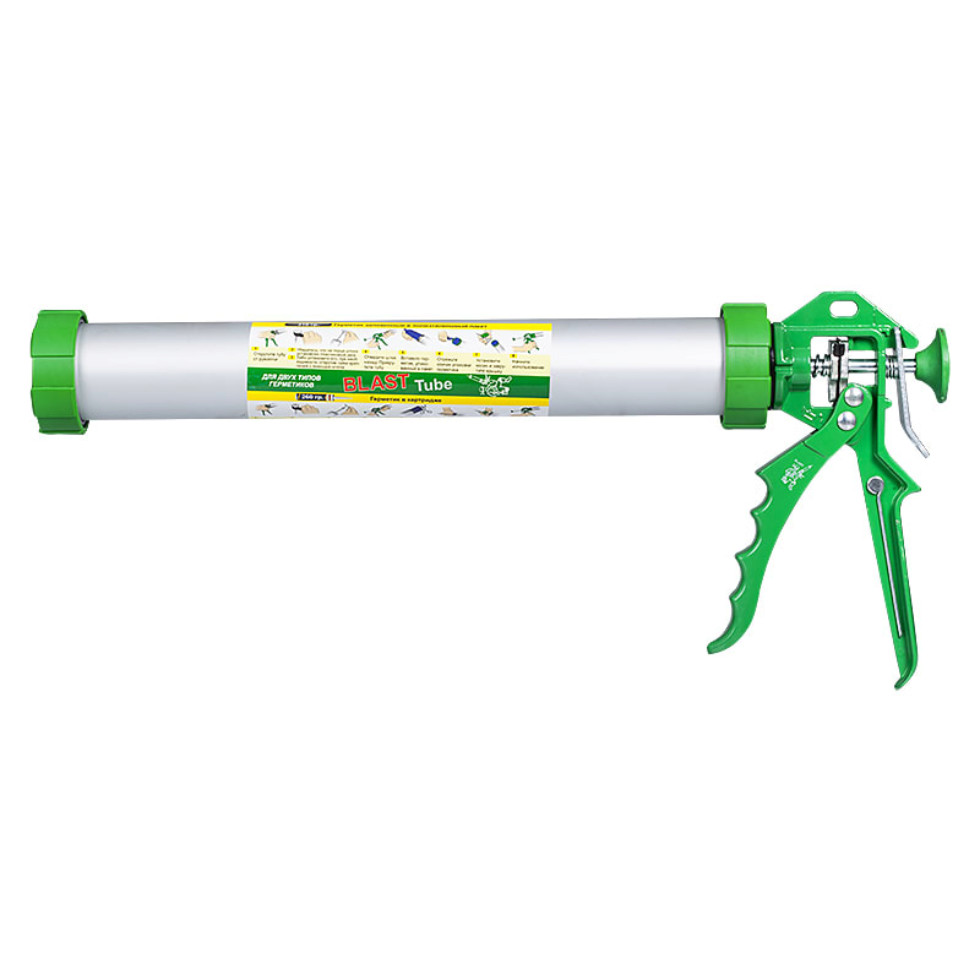 Пистолет для герметика Long Blast для герметиков в фольге