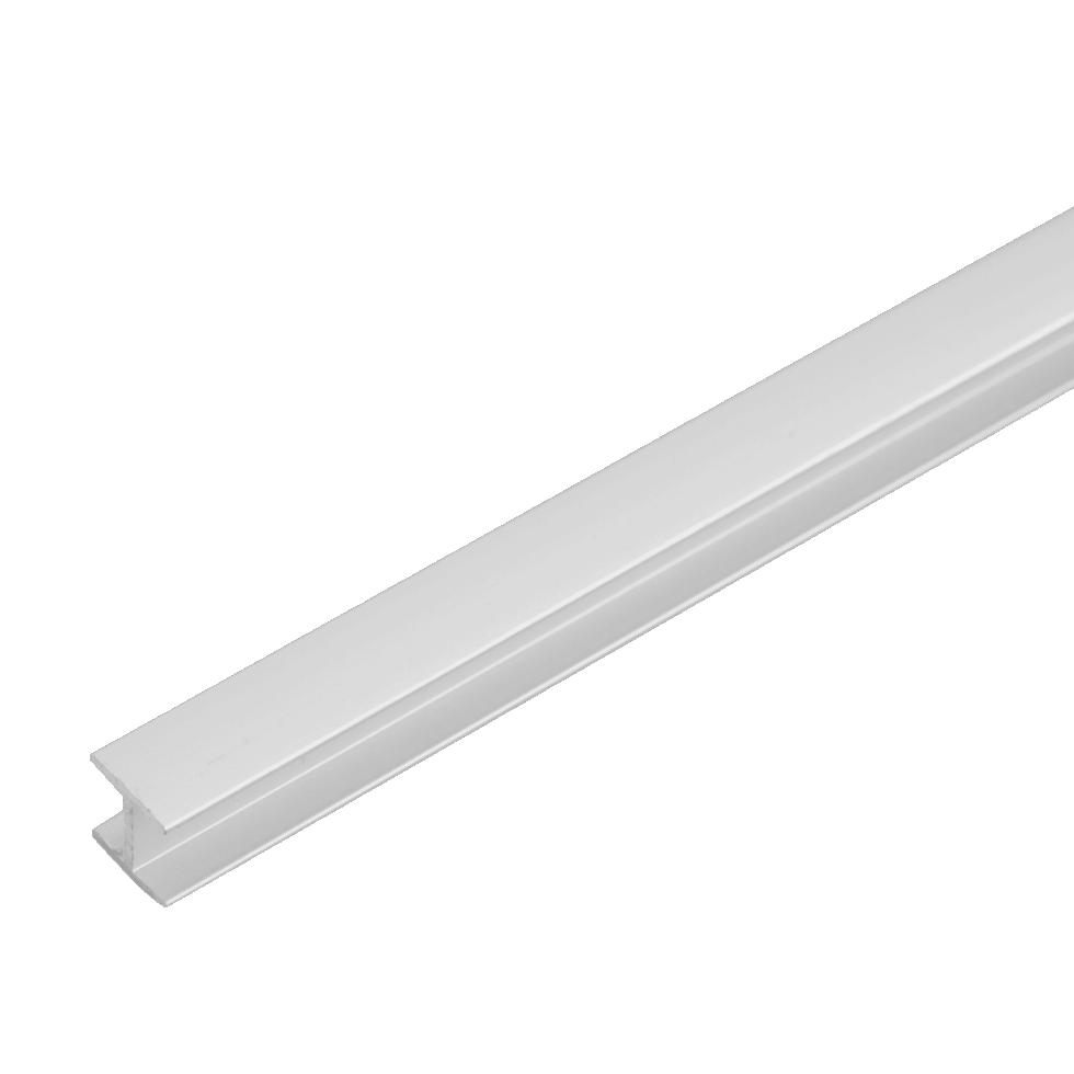 Планка для стеновой панели соединительная Н-образная 60х1х0.6 см, алюминий