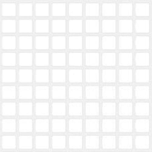 Панель ПВХ листовая 0.3 мм 960х485 мм Мозаика белая 0.47 м²