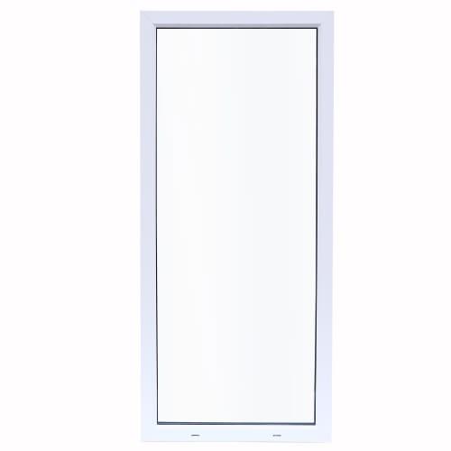Окно ПВХ одностворчатое 100х60 см глухое одно стекло