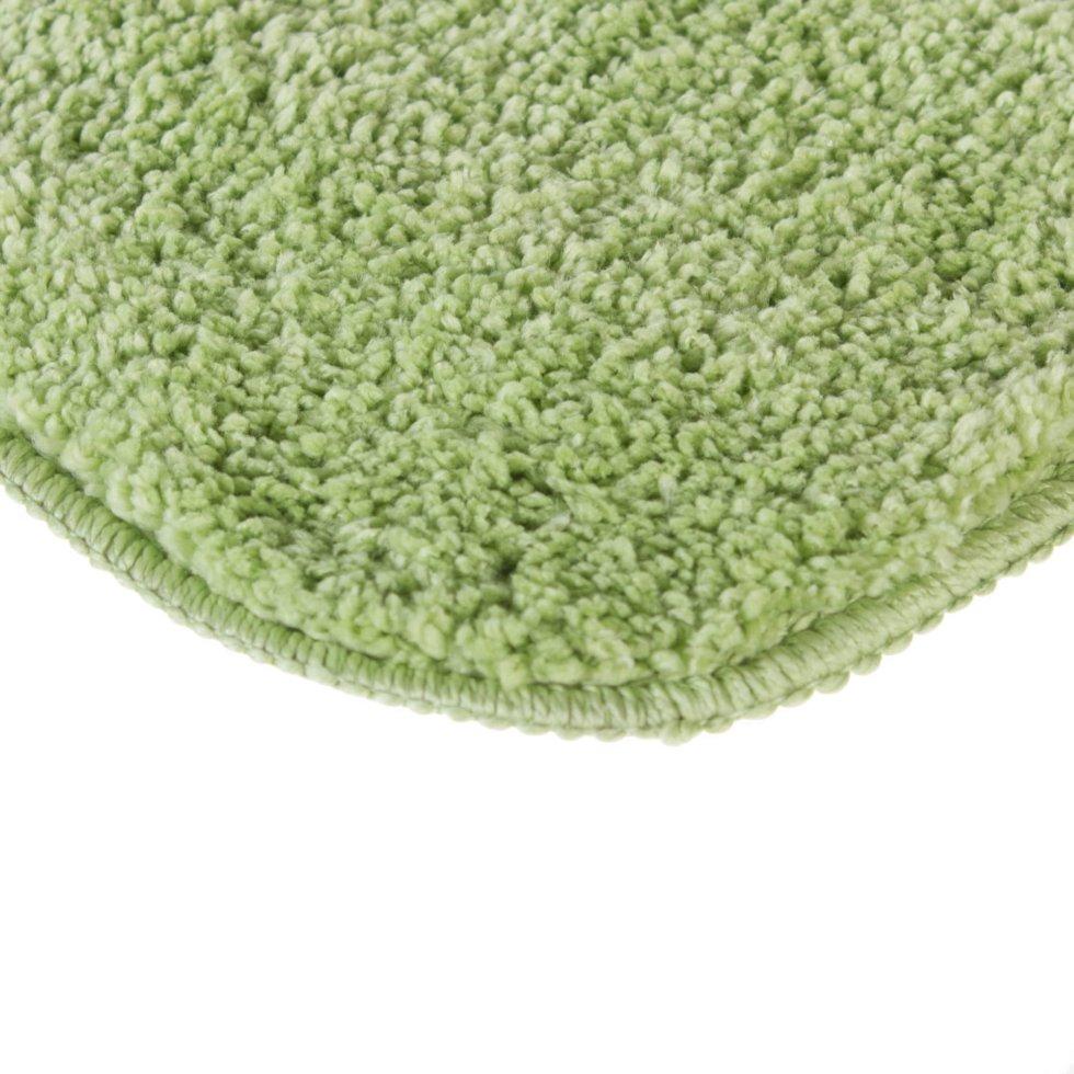 Коврик для ванной комнаты «Lounge» 50х70 см зелёный