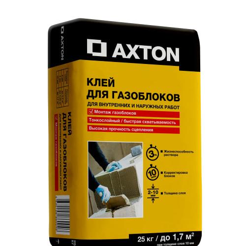 Клей для газоблоков Axton, 25 кг