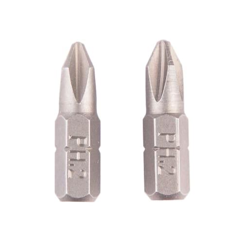 Биты, PH2, 25 мм, 2 шт.