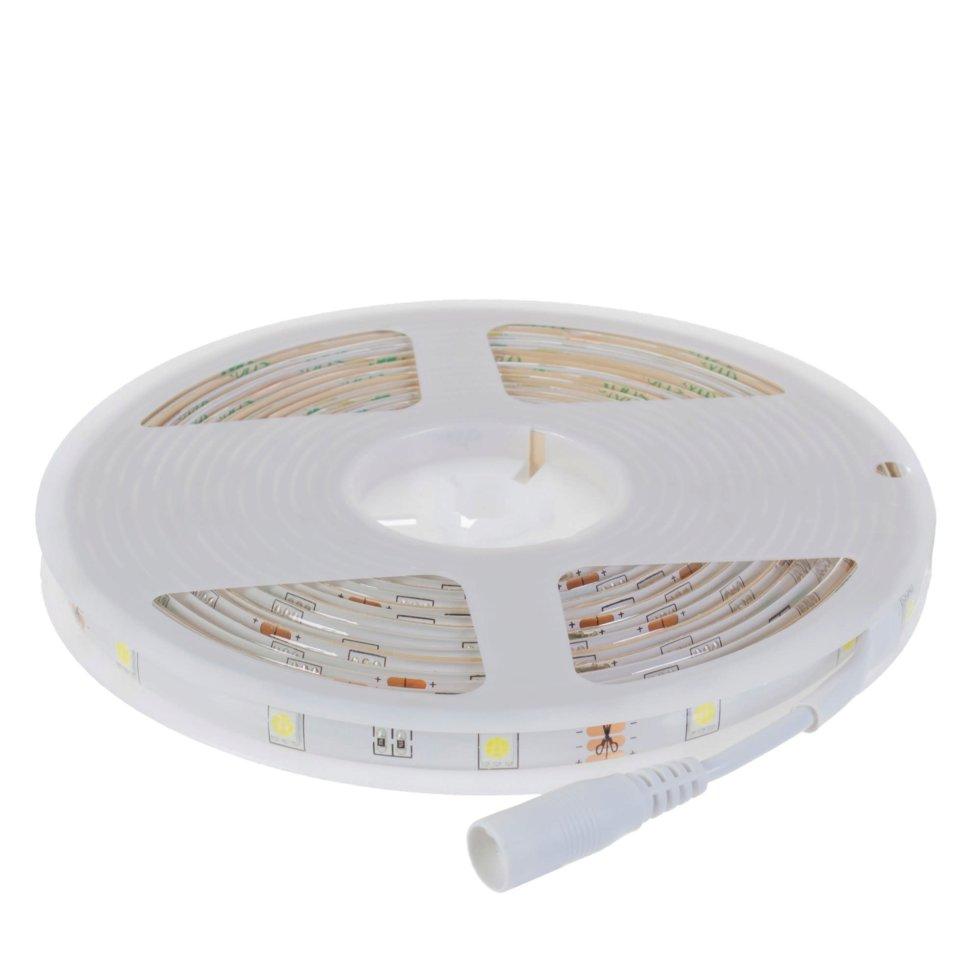 Набор светодиодной ленты 5 м 350Лм/30LED/м свет холодный белый IP65