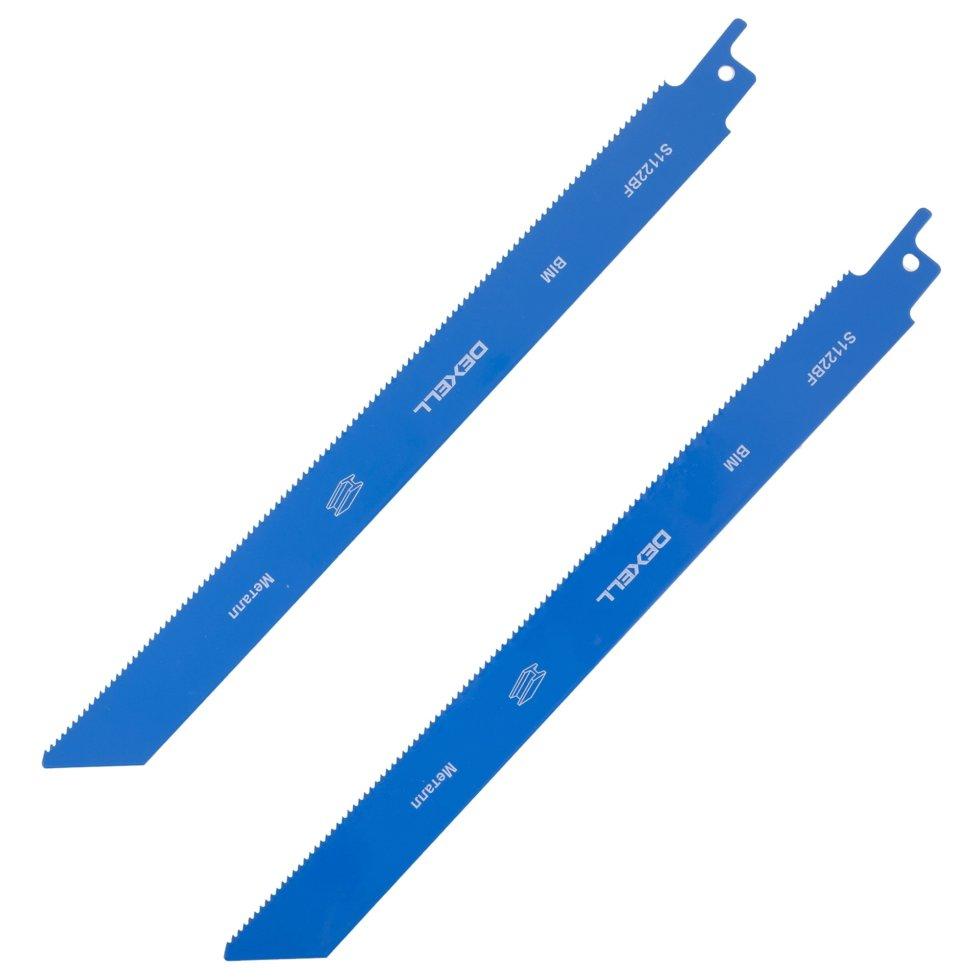 Пилки для сабельной пилы Dexell S1122BF, 2 шт.
