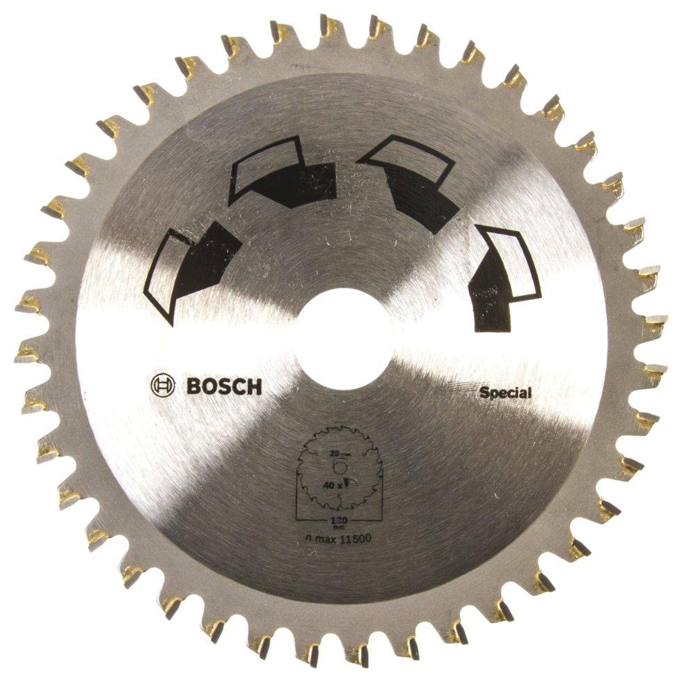 Диск циркулярный по дереву Bosch Special 130x20/16 мм