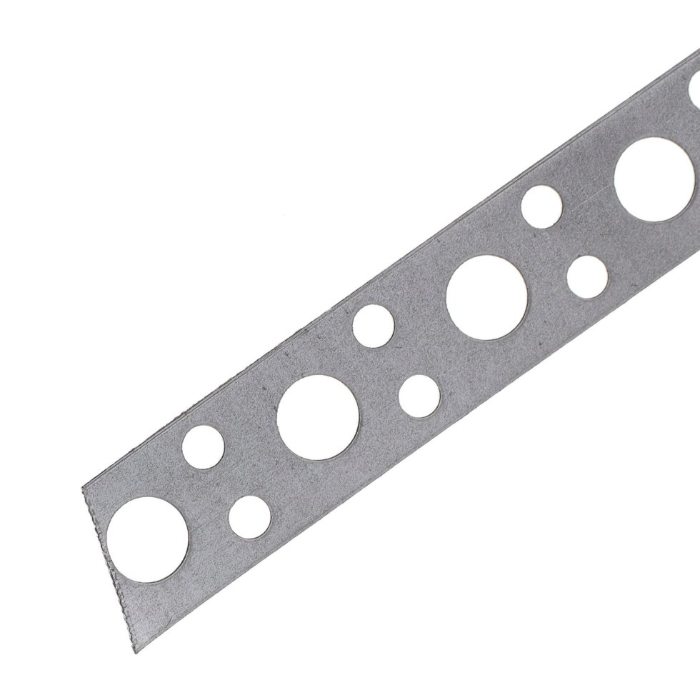 Лента перфорированная 0.5х12 мм 10 м, сталь, ЛСП
