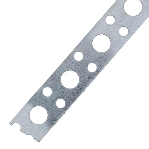 Лента перфорированная 0.5х12 мм 25 м, сталь, ЛСП