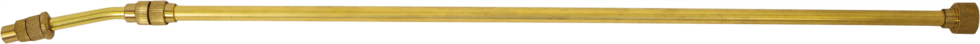 Штанга телескопическая латунная 1 м