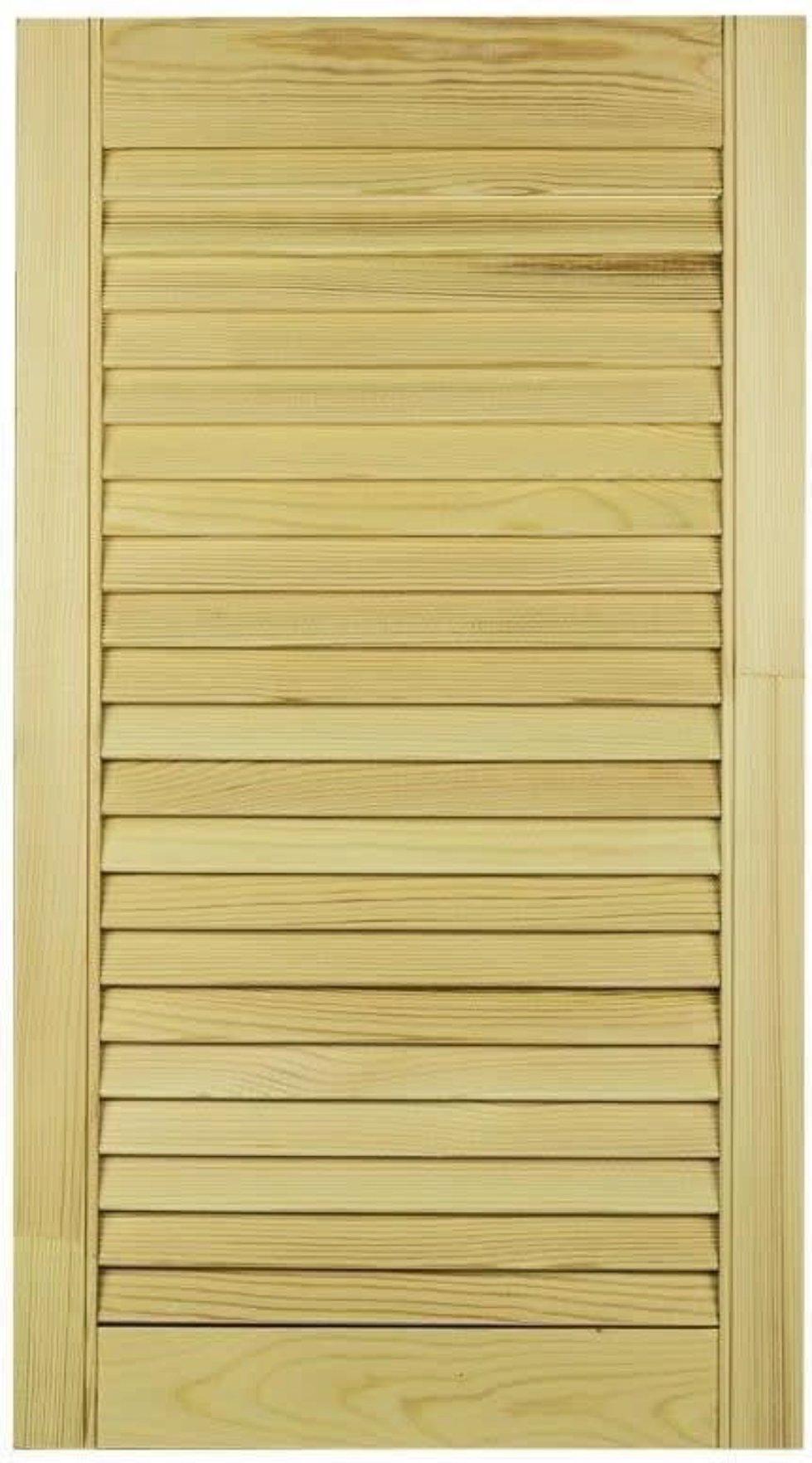 Дверка жалюзийная 1995х594х20 мм хвоя сорт А/В
