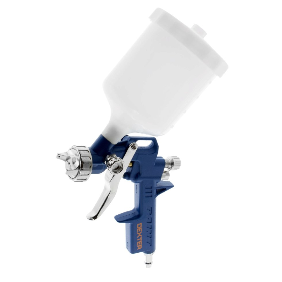 Краскораспылитель с верхним бачком Dexter, 0.4 л, пластиковый