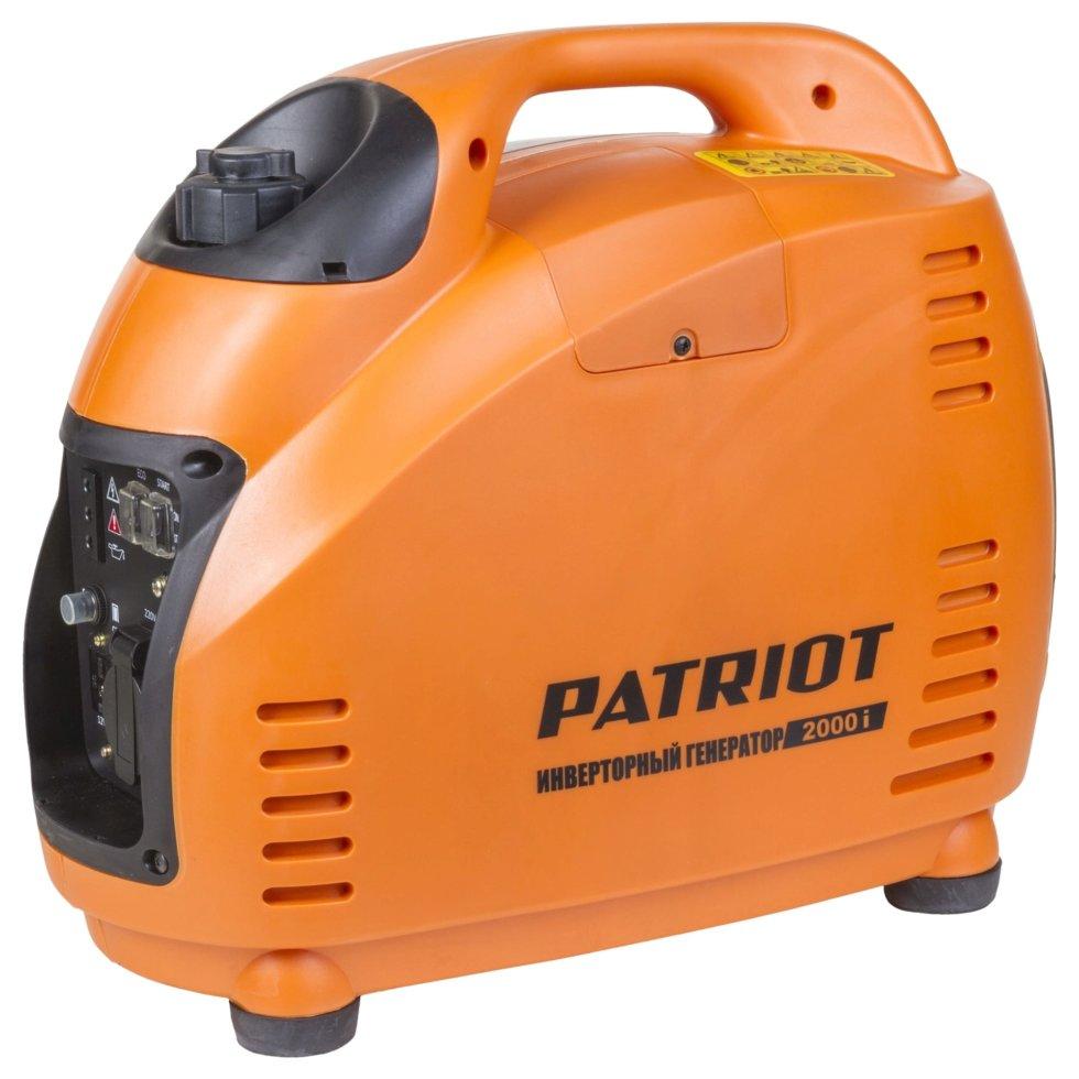 Генератор бензиновый инверторный Patriot 2000I 1.5 кВт