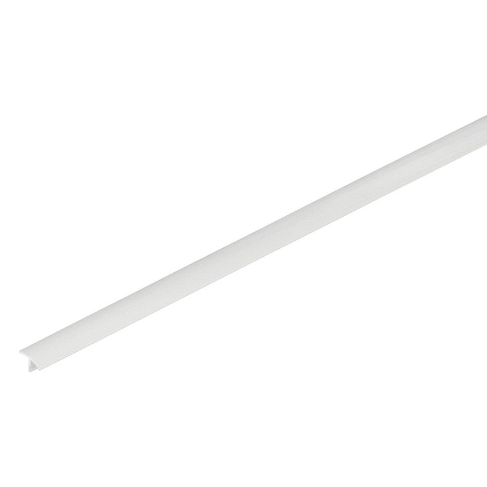Профиль ПВХ T-образный для панелей 8 мм, 3000 мм, цвет белый