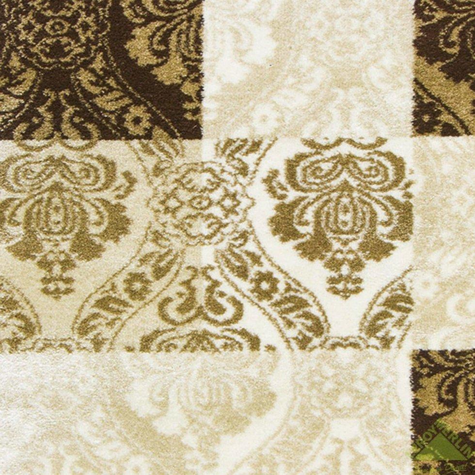 Дорожка ковровая «Аура 26905_29656» джут 1 м цвет бежевый
