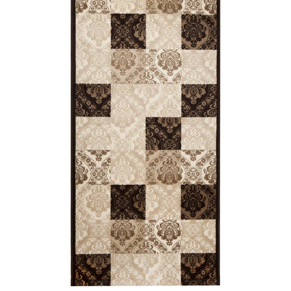 Дорожка ковровая «Аура 26905_29656» джут 1.2 м цвет бежевый