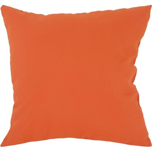 Подушка декоративная «Радуга-716» 40х40 см цвет оранжевый